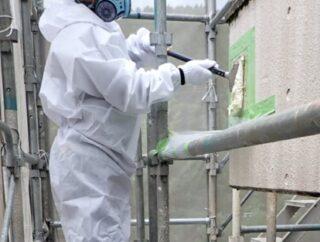 豊川市内公共施設 仕上塗材除去工事